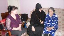 Посещение настоятельницей  монастыря