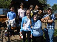 Члены клуба «Ровесник» посетили ранчо «Подкова»