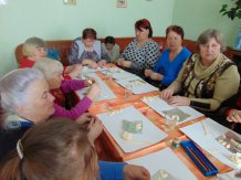 Представители ТОС Солнечный участвуют в мастер-классе по тестопластике