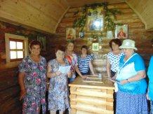 Наши клиенты в часовне на Святом источнике в д.Чубуково