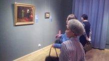 Посещение выставки работ Репина