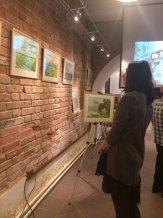Выставка работ участников кружка Изостудия в арт-галерее Арка