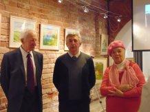 Выставка творческих работ в арт-галерее