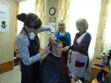Практика в социальной парикмахерской