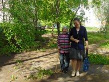 Оздоровительные прогулки с социальным работником