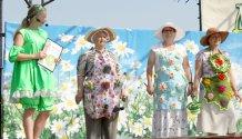 Участники конкурса Арт-фартук на муниципальной выставке Урожай 2017
