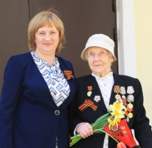 Екатерина Михайловна Печенина - участница Великой Отечественной Войны, получатель социальных услуг