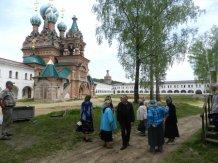 Экскурсия краеведческого кружка в Николо-Сольбинский монастырь