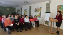 Проведение учебы с социальными работниками 13 марта по теме Ведение учетно-отчетной документации