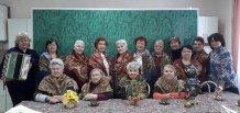 """Кружок """"Золотой возраст"""" - посиделки под баян """"Всем, кто влюбен"""""""